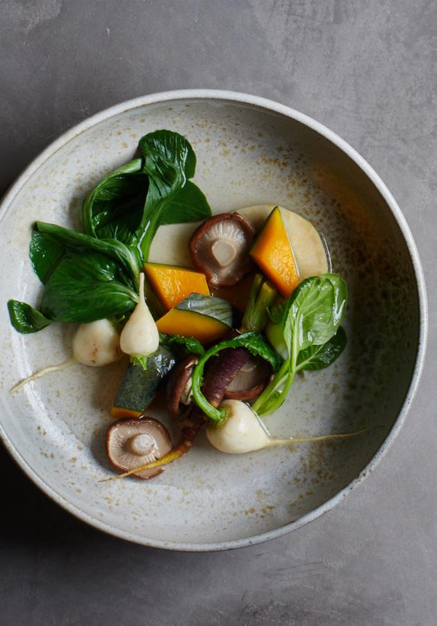 root vegetable dashi